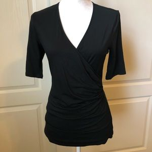 Ann Taylor black blouse Size Medium